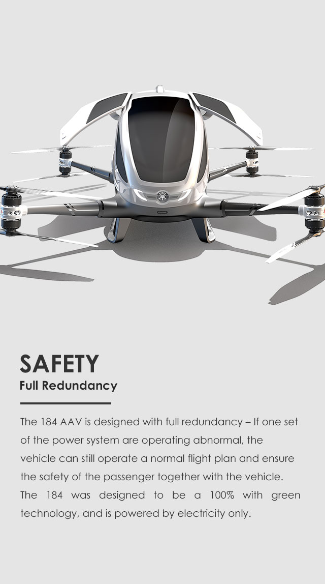 Ehangofficial Siteehang 184 Autonomous Aerial Vehicle. Still Operate A Normal Flight Plan And Ensure The Safety Of Passenger Together With Vehicle 184 Was Designed To Be 100 Green. Wiring. Ehang Drone Wiring Diagram At Scoala.co