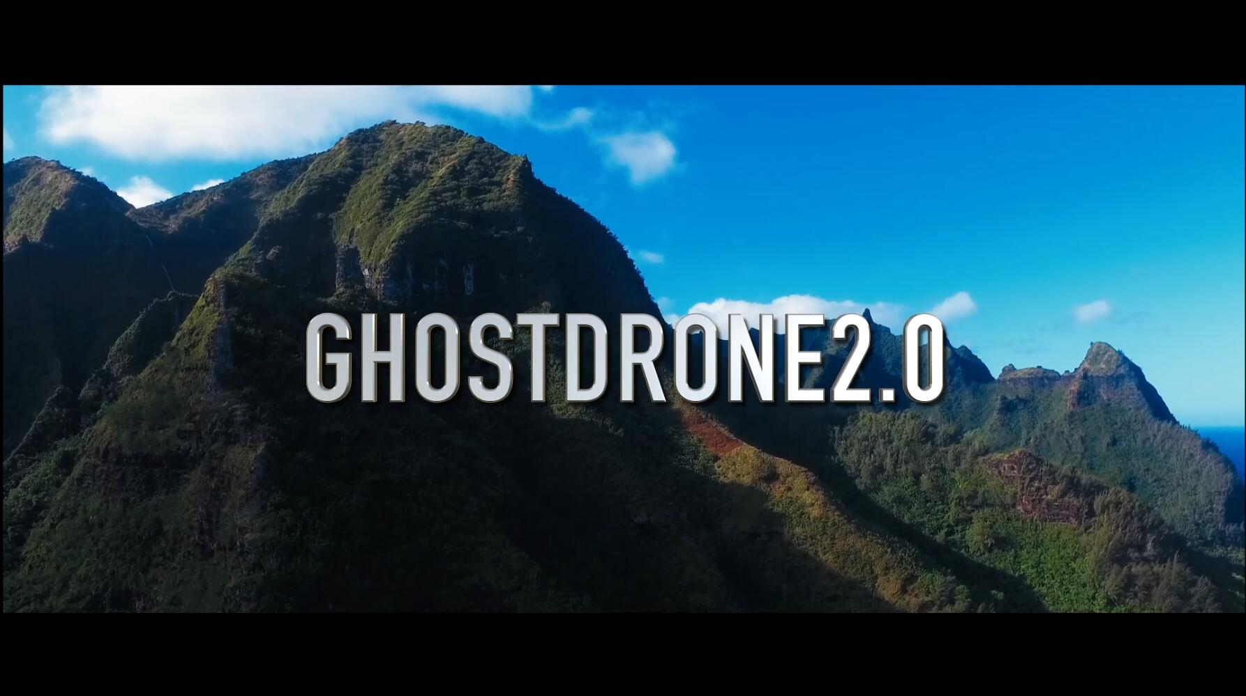 Introducing GHOSTDRONE2.0