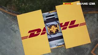 DHL & EHang Intelligent Cabinet and Falcon Drone Delivery