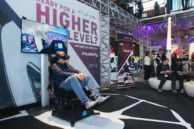 Leading20194GAMECHANGERSFestival, EHangLaunches Urban Air Mobility Project in Europe