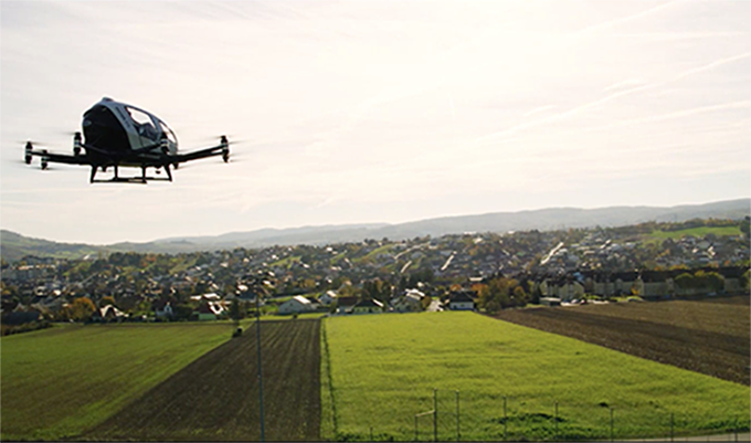 EHang Achieves World's First Certificate of Unmanned Aircraft System Safety for AAVs