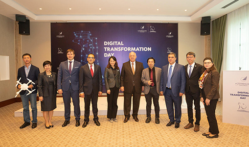 EHang and Azerbaijan Airlines to Establish Unmanned Aerial Vehicle Command-and-Control Center at Heydar Aliyev International Airport